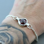 Rule Them All Garnet Bracelet