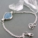 Rule Them All Aquamarine Bracelet
