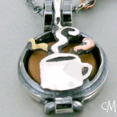 Coffee Cup Diffuser Pendant